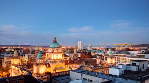 32227 Belfast Skyline© Christopher Heaney Photographic Courtesy Of Visit Belfast, Copyright Christopher Heaney