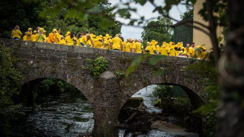 The Yellow Line_ photographer Helen Sloan