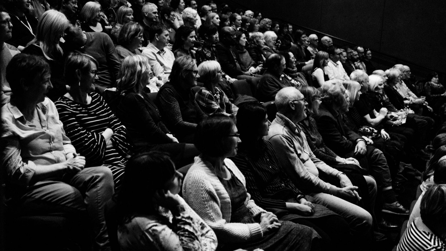 Belfast International Arts Festival Audience Mac 2018