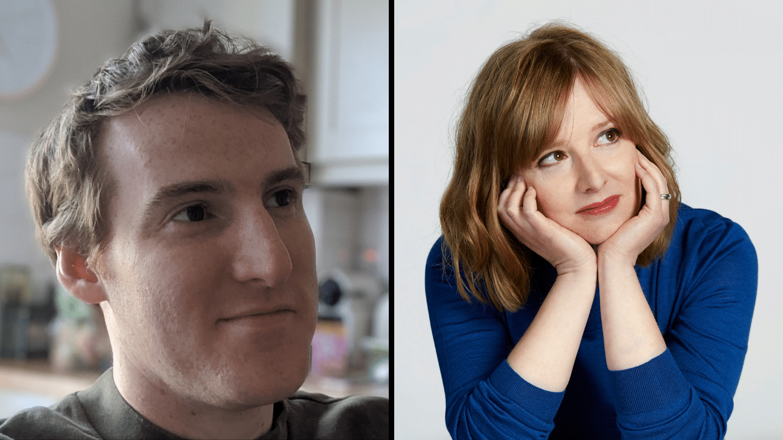 Seamas O'reilly & Lucy Mangan Web