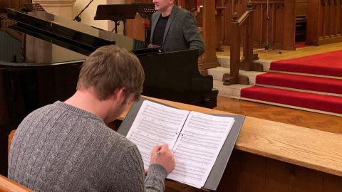 Singing Struggle And Agreement Rehearsal Smaller