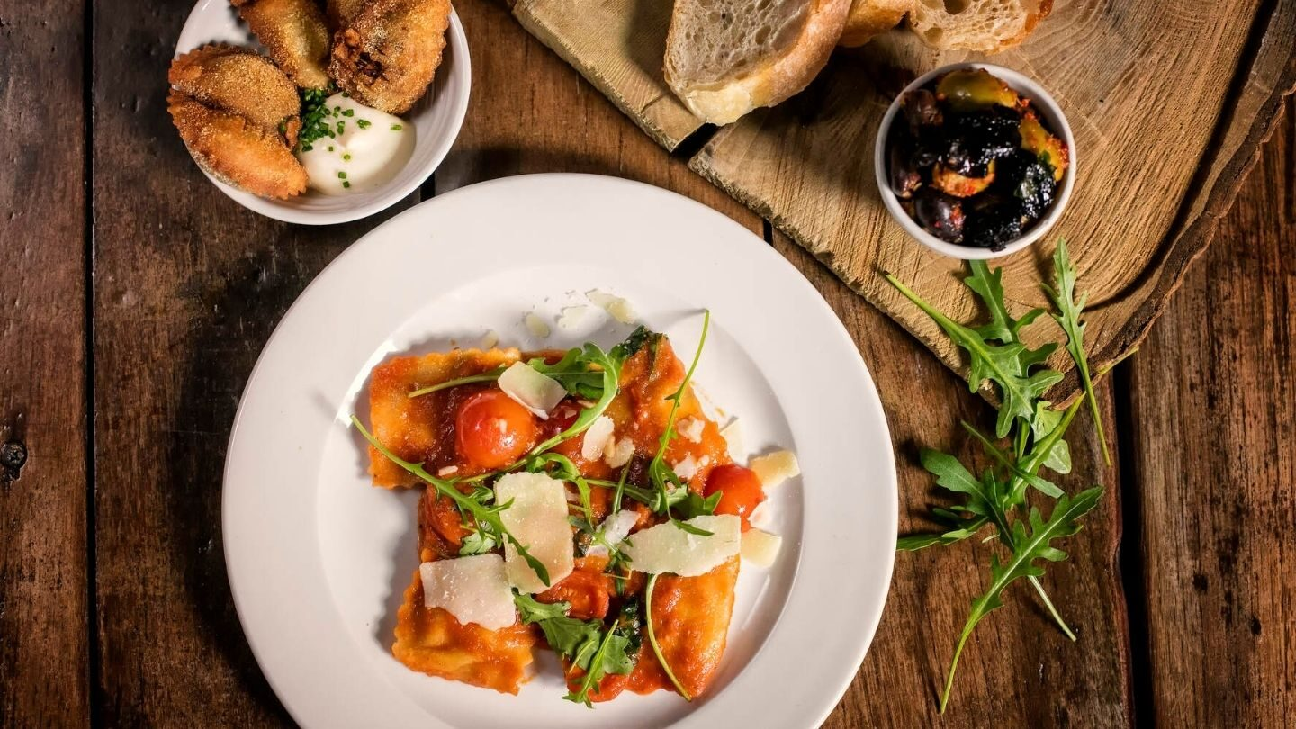 Food by Coppi Restaurant. Courtesy of Tourism NI