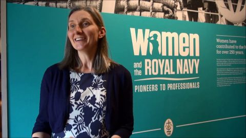 Pioneers to Professionals. Women and the Royal Navy